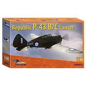 ドラウイングス 1/48 リパブリック P-43B/C ランサー 偵察機 プラモデル DWS48034