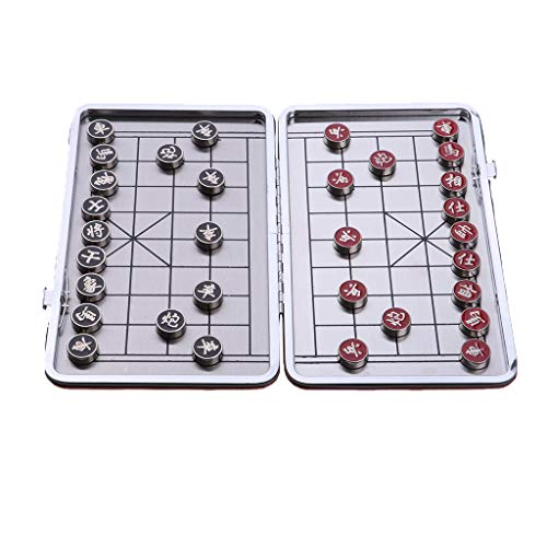 lahomia Foldable Chess Board And 32 Chess Pieces for Entertainment