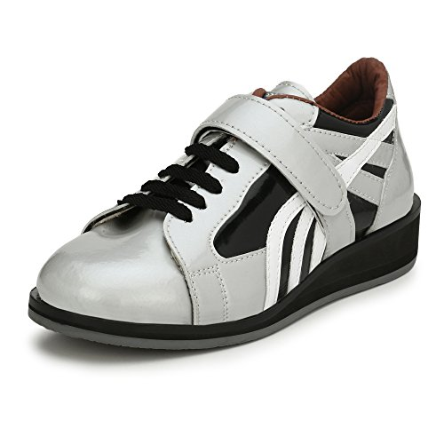 ASE Mens Silver Professional Weightlifting Shoe 6 UK