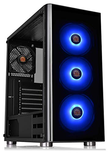 Thermaltake V200 Tempered Glass RGB Edition 12V MB Sync Capable ATX Mid-Tower...