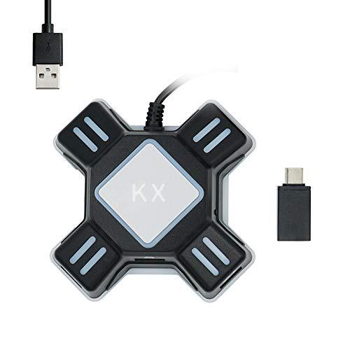 Mcbazel KX Gioco Tastiera e Mouse USB Adattatore per PS4/ PS3/ Xbox One/ NS Switch Console Converter