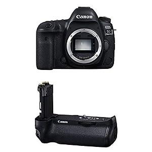 Canon EOS 5D Mark IV Full Frame Digital SLR Camera Body Battery Bundle