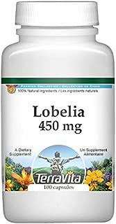 Lobelia - 450 mg (100 Capsules, ZIN: 512458) - 3 Pack