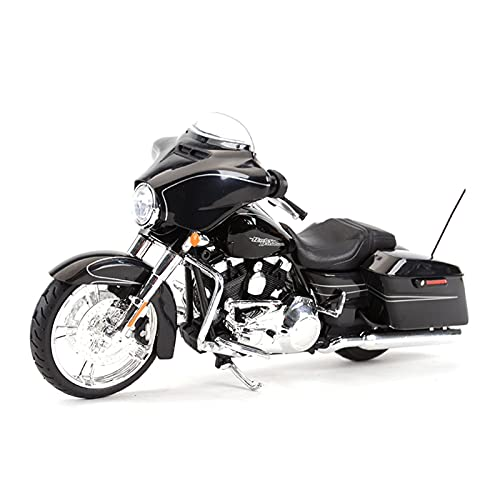 MHDTN El Maquetas Coche Motocross Fantastico 1︰12 2015 para Street Glide Special Sporty Estática Colección De Motocicletas Hobby Boy Girl Regalo Expresión De Amor