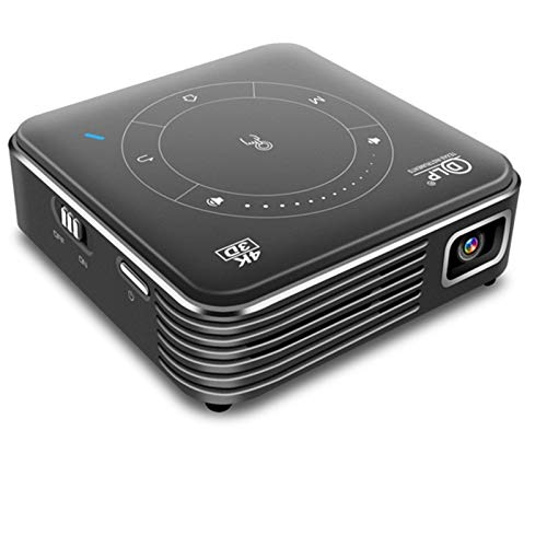 DGDD Projector Mini Video Projector Portable Support 1080P And 170'' Display W Compatible with TV Stick PS4 HDMI TF AV USB for Home Cinema & Outdoor Movie