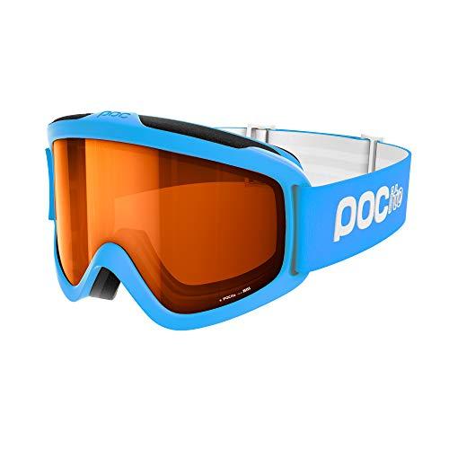 POC POCito Iris Ski Brille, Fluorescent Blue, ONE Size