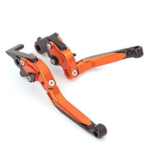 FXCNC Racing Einstellbare Brems Kupplungshebel für KTM RC8 / R 09-16, 1290 Super Duke R/GT 14-19, 990 SuperDuke 05-12, 690 Duke 08-11