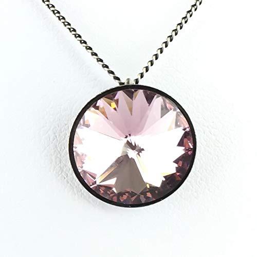 Konplott Rivoli Light Amethyst Halskette mit Anhänger rosa/lila