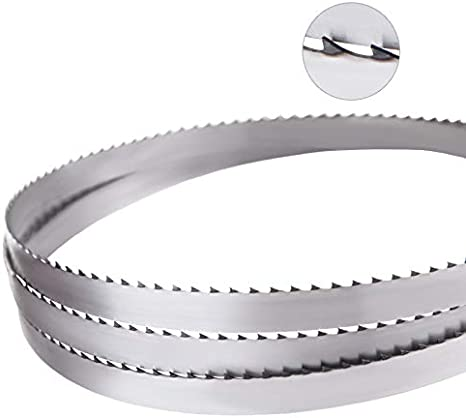 Stainless Steel, 1650 mm length Vertes 2x Replacement Bandsaw Blade for Bone Saws