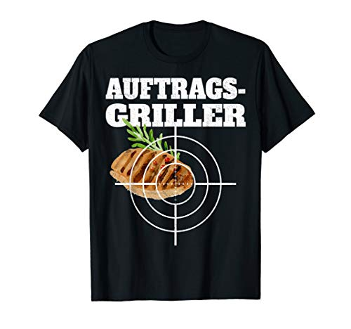 Auftragsgriller Steak Grillen Sommer Grillparty BBQ Grill T-Shirt
