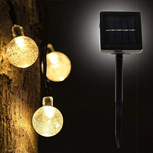 Z.L.FFLZ Luces 50 LED 10M lámpara de Cristal de la Bola de...