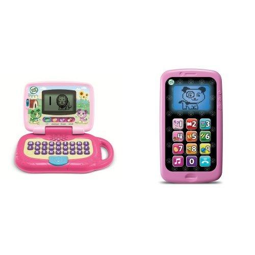 LeapFrog Leaptop and Smart Phone Business Baby Bundle, Violet