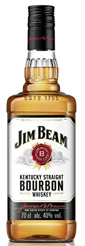 Jim Beam Kentucky Straight Bourbon Whisky, 40% - 700 ml