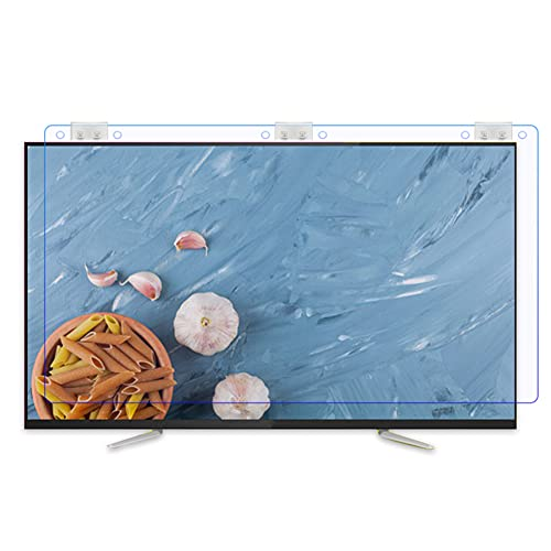 WSHA Protector de Pantalla LCD Anti-Blue Light/No Glase/Anti Scratch/Anti reflectivo Película de protección de los Ojos para 32'-65' LED, OLED & QLED 4K HDTV,58'(1303x766)