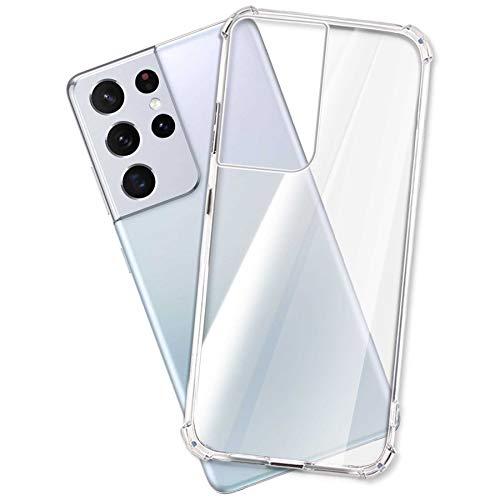 mtb more energy® Hülle Soft Armor für Samsung Galaxy S21 Ultra (SM-G998, 6.8'') - verstärkte Ecken - Kameraschutz - 1,5mm TPU - Schutz-Hülle Cover Tasche Handyhülle