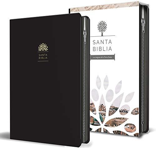 Santa Biblia Rvr 1960 - Tamaño Manual, Letra Grande, Cuero