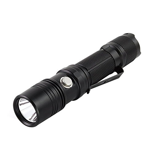 ThruNite TN12 2016 1100 Lumen Flashlight, CREE XP-L V6 EDC LED Handheld Flashlight for Emergency, Security or Camping - Cool White