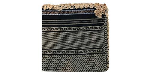 Desert Dress - Écharpe Arabe Authentique pour Hommes Shemagh Yashmagh Hiver Tête - -, 6
