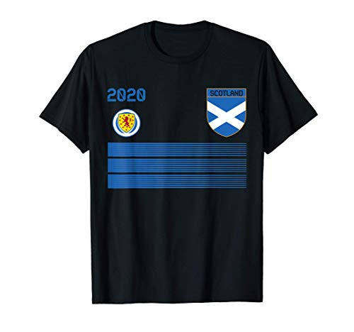 Scotland Football Jersey 2020 Scotland Soccer T-Shirt