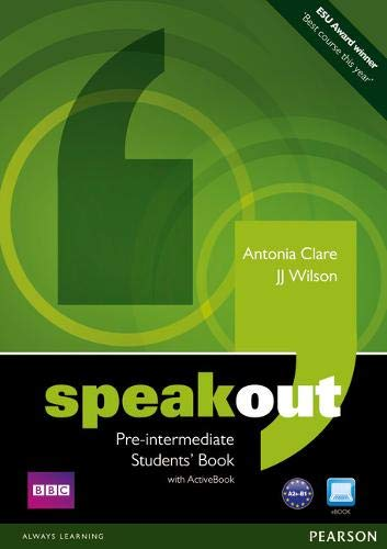 Speakout Pre-intermediate Students\' Book (with DVD / Active Book)