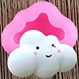 ZPZZPY Cloud Silicone Mold DIY Resin Candle Mold Fudge Chocolate Mold Cake Decoration Tool