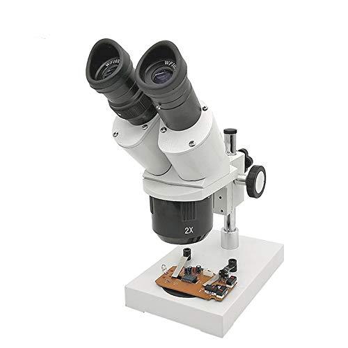 Stereo Microscope 20X 40X Binocular Microscope Soldering Smart Phone Repairing Industrial-Microscope