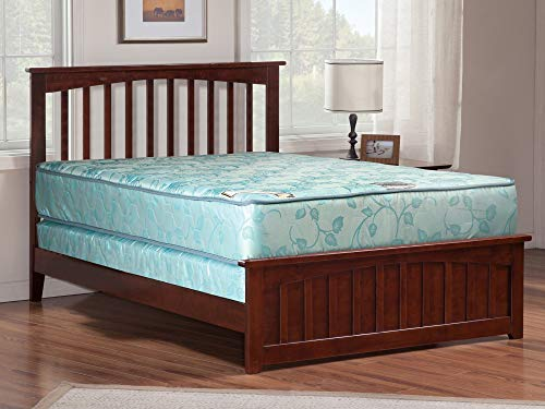 9-Inch Medium Firm Tight top Innerspring Fully Assembled Double Sided Mattress and Box Spring/Foundation, Good for The Back