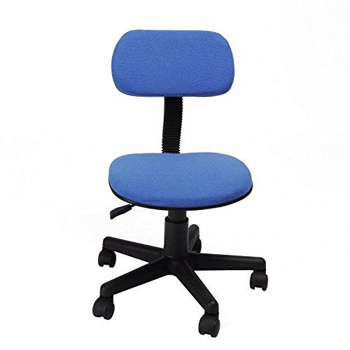 GreenForest Computer dattilografo sedia sedile operatore resto posteriore studio scrivania sedie (blu)