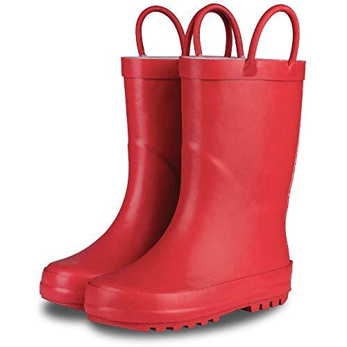 Red Kids Rain Boots