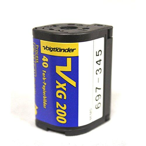 Voigtlander APS Film ISO 200-40 Exposures (5-Pack)