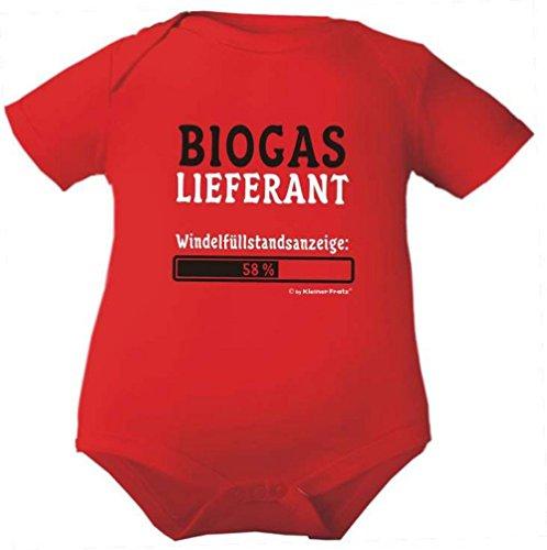 KLEINER FRATZ KLEINER FRATZ Baby Body 1/4-Arm (Fb. rot) (Gr.50) Biogaslieferant