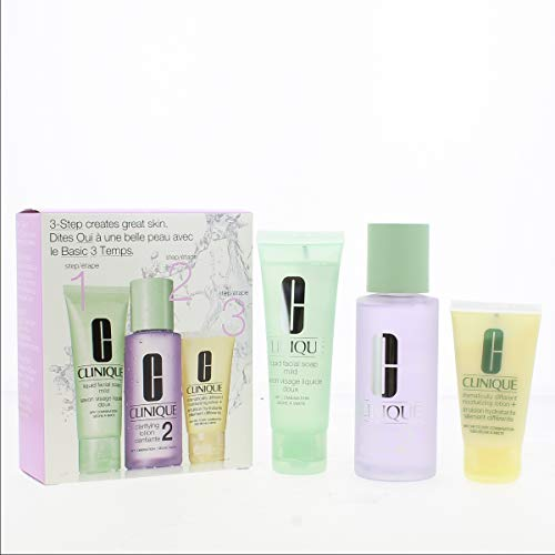 Clinique Intro Kit 2 - Liquid Facial Soap + Clarifying Lotion + Dramatically Different Moisturizing Gel