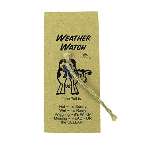 TG,LLC Treasure Gurus Novelty Cow Tail Thermometer Fake Weather Report Funny Practical Joke Gag Gift