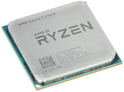 AMD Ryzen 7 YD170XBCAEWOF Processore1700x 3.4GHz (AMD Ryzen 7, 3.4 GHz, Socket AM4, PC, 1700x, 32-bit, 64-bit)
