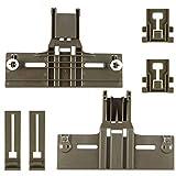 6 Pack W10350376(2pc) W10195840(2pc) W10195839(2pc) UPGRADED Dishwasher part for Kitchenaid,W/ 0.9 In Diameter Wheel,kitchen Aid whirlpool kenmore Dishwasher Parts Upper Rack,model w10350374,w10195840