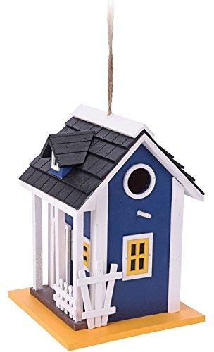 Vogelhaus / Nistkasten in 3 verschiedenen Designs (blau)