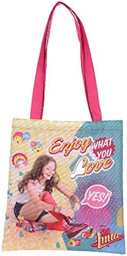 Disney Soy Luna Tragetasche Like & Enjoy pink