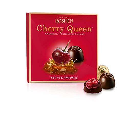 Bombons Finos Cherry Queen da Roshen - Importado da Hungria