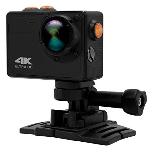 PowMax Sports Camera,WW-16 4K WIFI 10m Underwater Sports Action Camera 16MP Waterproof Mini DV without Waterproof Case(Black)