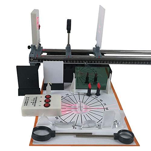 YZHX-Chemical Physikalische Optik Experimentier-Set Prinzip der Linsenabbildung Optische Bank Geradlinige Linie Physik-Lehrinstrument