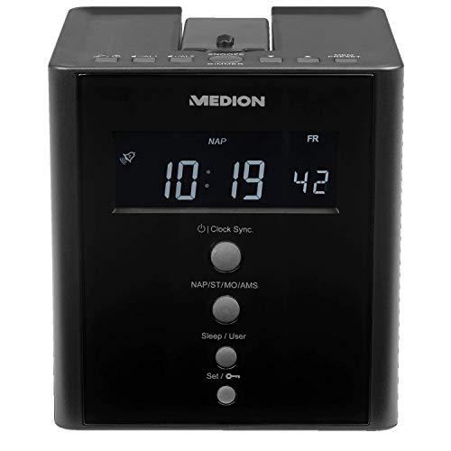 MEDION® Life® E66395 Projektions Uhrenradio (schwarz)