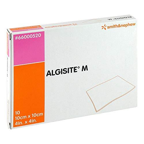 algisite M Calcio alginato wundaufl.10x 10cm ster. 10St compresas