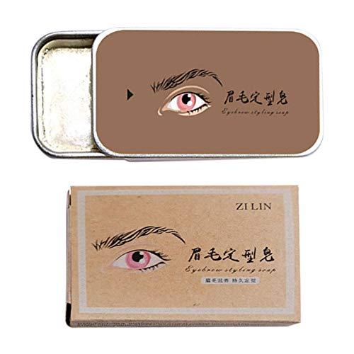 Angmile Crème à sourcils 3D sourcils sauvages façonnant Gel maquillage sourcils cosmétiques