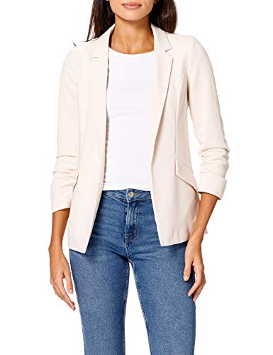 ONLY Damen ONLCAROLINA Diana 3/4 CC TLR Blazer, Whitecap Gray, 38