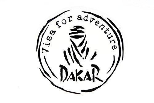 Dakar ''Visa'' décalque Noir Mat