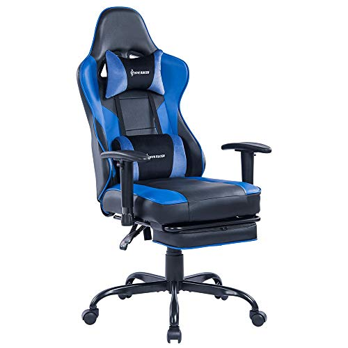 Blue Whale Gaming Chair PC Computer Game Chair...