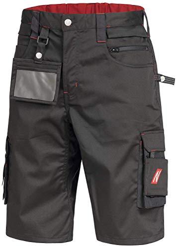 Nitras Motion TEX PRO FX 7700 Arbeitshosen - Shorts für die Arbeit - Schwarz - 48