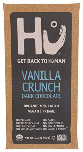 HU KITCHEN Bar Chocolate Vanilla Quinoa Qrispy, 2.1 OZ