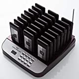 PagingPro Restaurant Social Distance Restaurant Pager Guest Waiting Lineup Calling Paging System for Cuisine and Bar CE Accessory (One Set 24)