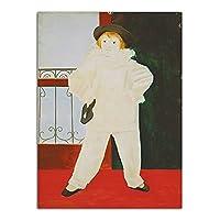 ポスタープリントキャンバスウォールアートスプレー絵画写真肖像画油絵女性男性家の装飾50x70cmx1フレームなし